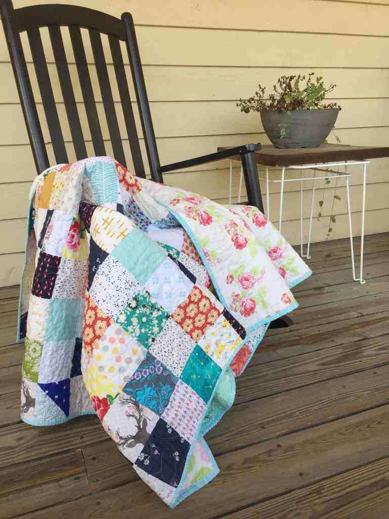 Quilt Reveal – Cara's Quilt – another Tiny Patch Quilt