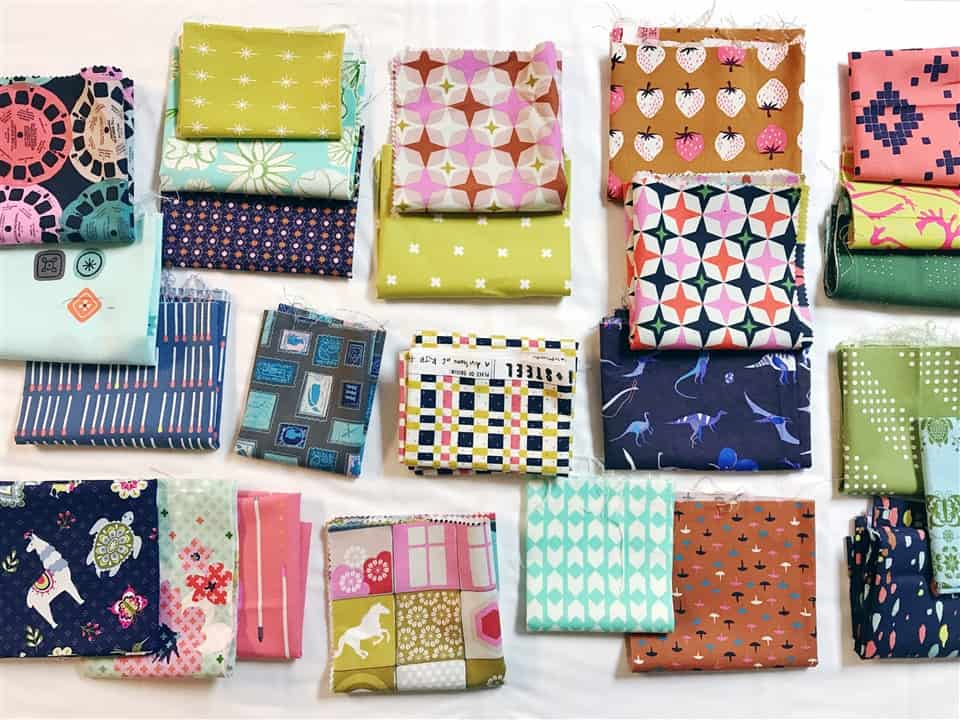 Monday is all about Fabric #11 – Cotton and Steel