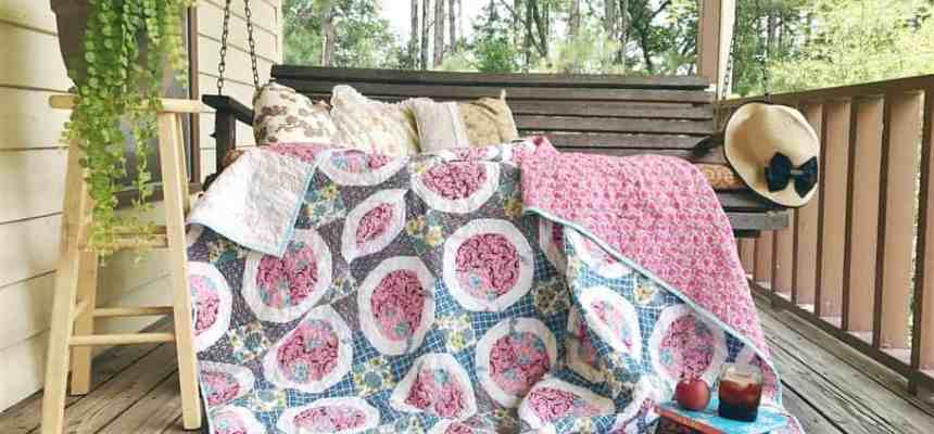 Rescue Quilts – finishing vintage quilt tops – The Pie Quilt – How I find them