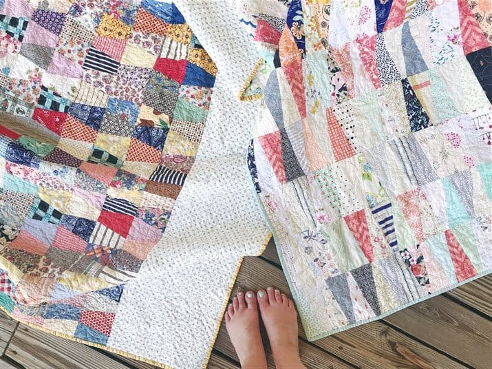 The Rescue quilts