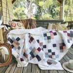 What is cheater sashing? + A Granny Square Quilt (quilt reveal)