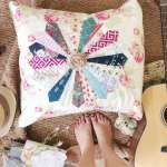 Sprucing Up – Boho inspired Dresden pillow (sewing finishes)