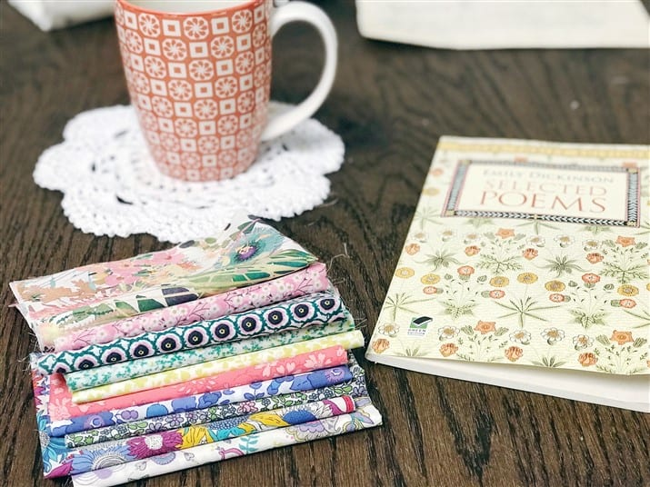 Monday is all about fabric – #34 – Liberty Society