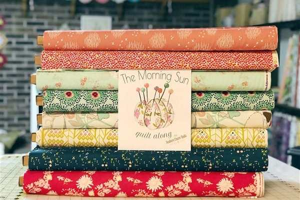 Announcing the Morning Sun Quilt Along
