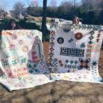 A Quilt Maker's Tale – #5 – A Meet Up of 2 friends + 2 quilts