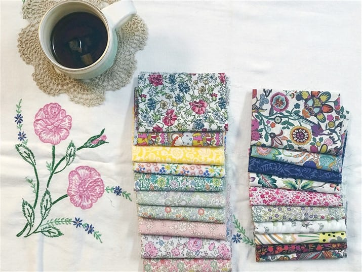 Monday is all about Fabric – #59 – Liberty Society