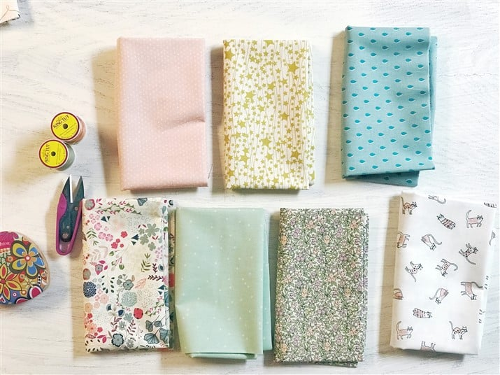 Monday is all about Fabric – #65 – A refreshing mixed bundle