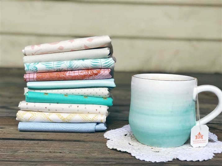 Monday is all about Fabric – #77 – A Pale & Yummy Bundle