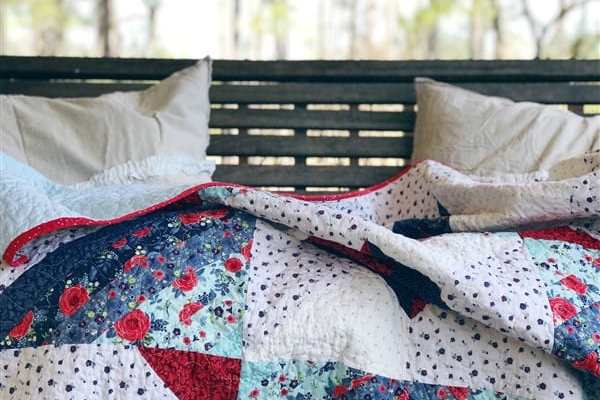 Carolina Mingle Quilt – #3 – Quilt Reveal