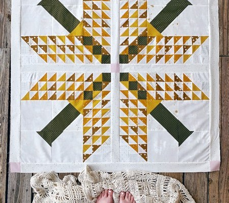 Work In Progress – Para Para Quilt – Beginnings + Why seams are off sometimes