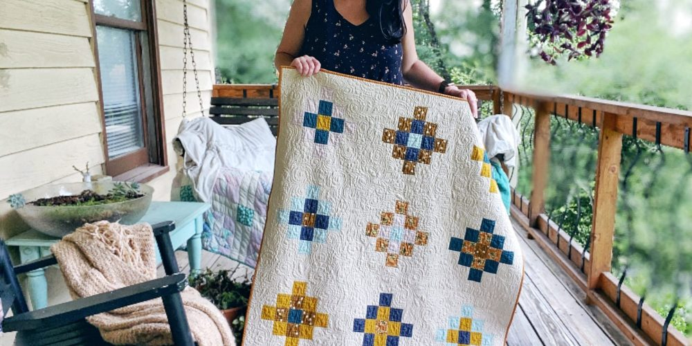 Sassy Granny Quilt #2 – The one for my grandbaby – Quilt Reveal