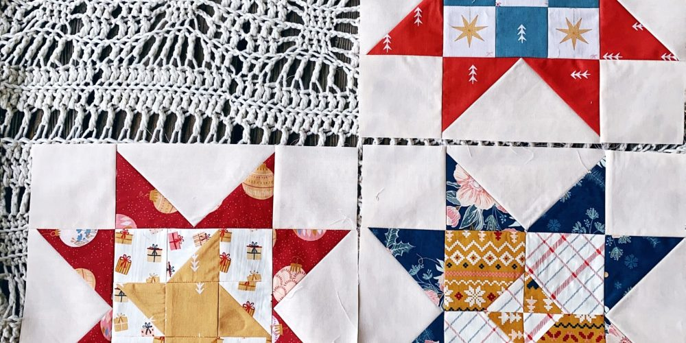 Little Miss Sawtooth Quilt Along – Luciana, Isla and Olivia – #4