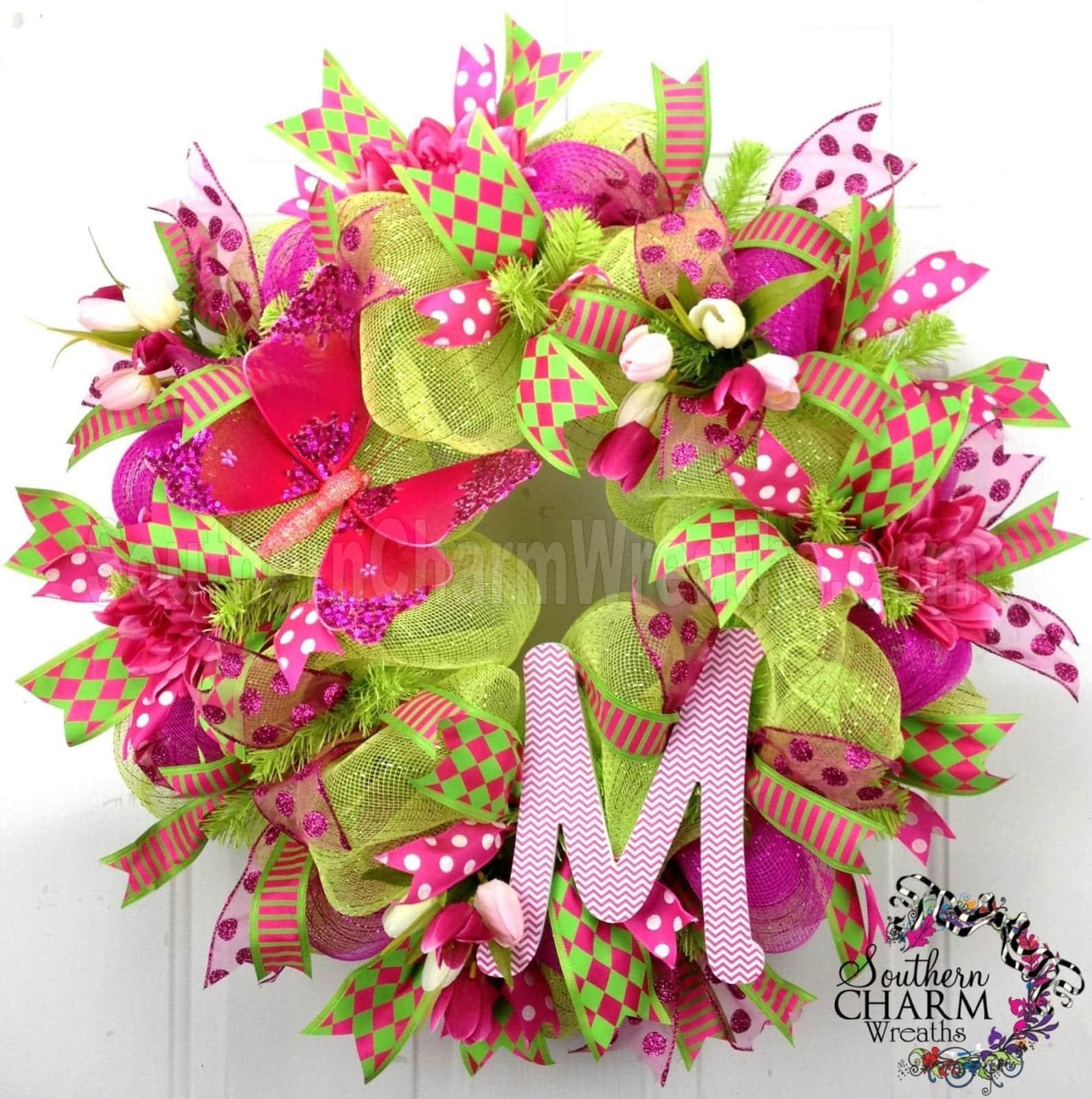 Beautiful Deco Mesh Wreath Ideas You Will Love