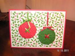 Paper Button Ornaments (Wild Card)