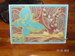 Butterfly Card - Potpourri Basket