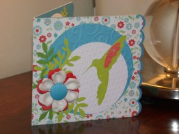 Hummingbird Card - Pagoda, TBBM2