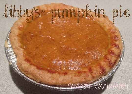 LIBBY'S Famous Pumpkin Pie #Recipe