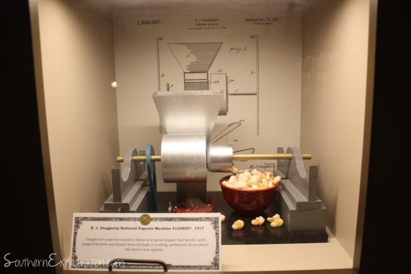 E.J. Daugherty Buttered Popcorn Machine   101 Rocket City Inventions