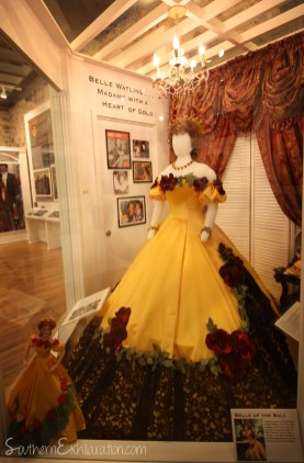 Belle Watling's Dress   Road To Tara Museum   Gone With The Wind Trail