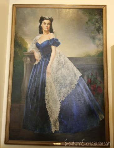 Scarlett's Southern Exhilaration: Margaret Mitchell House | Gone With The Wind Trail | Painting from Rhett's Bedroom