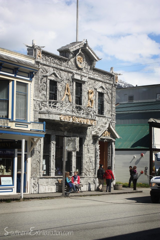Skagway's most famous building.