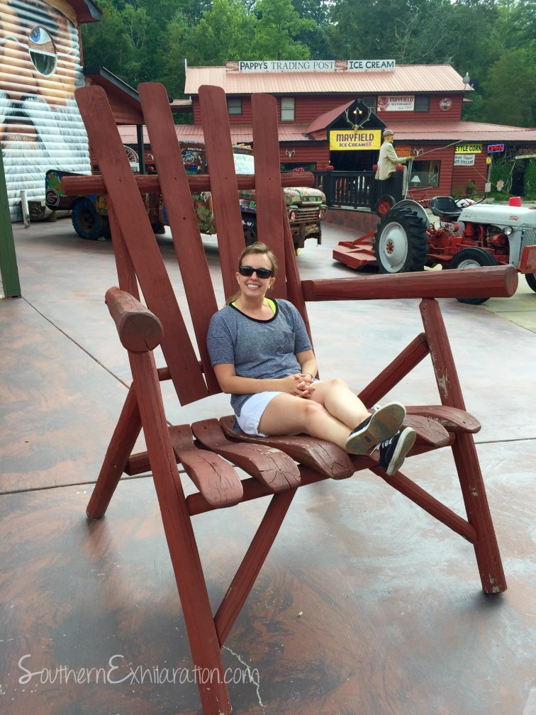 Southern Exhilaration at Pappy's Trading Post | Blairsville, GA