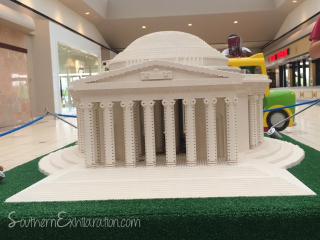LEGO Jefferson Memorial
