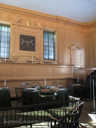 Courtroom of the Pennsylvania Supreme Court | Philadelphia, PA