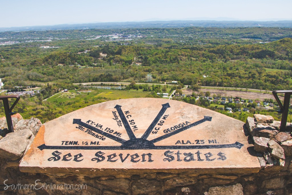 See Seven States | Rock City | Lookout Mountain, GA