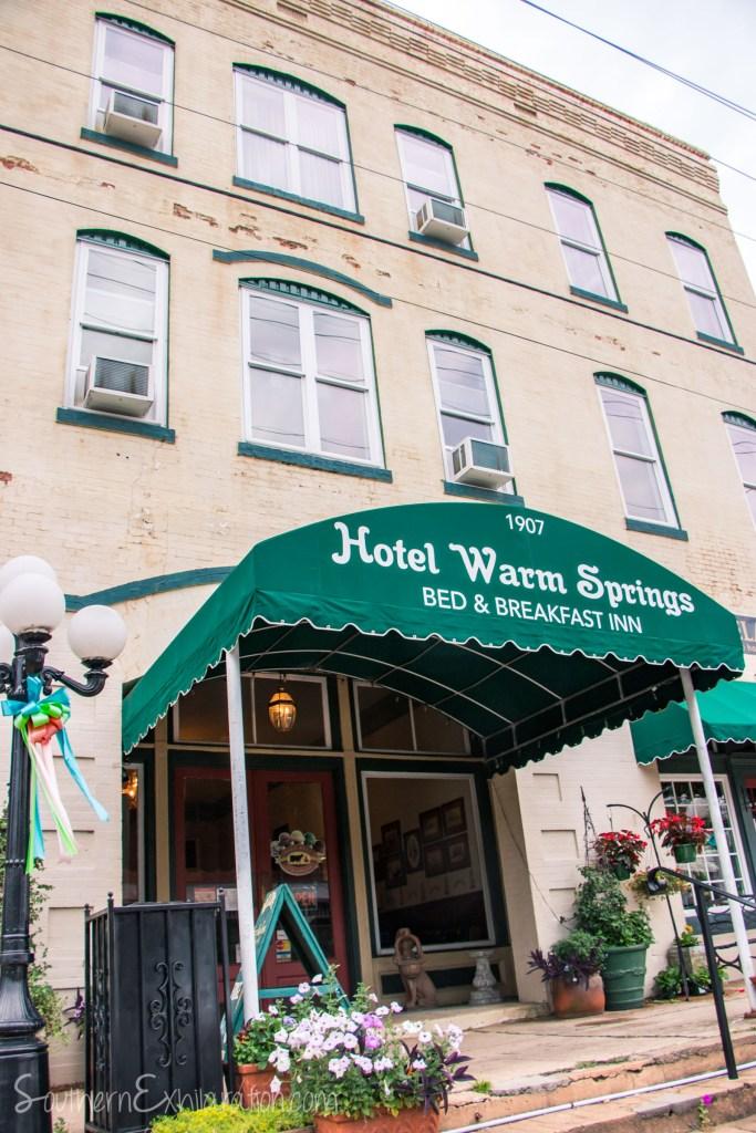 Hotel Warm Springs | Warm Springs, GA