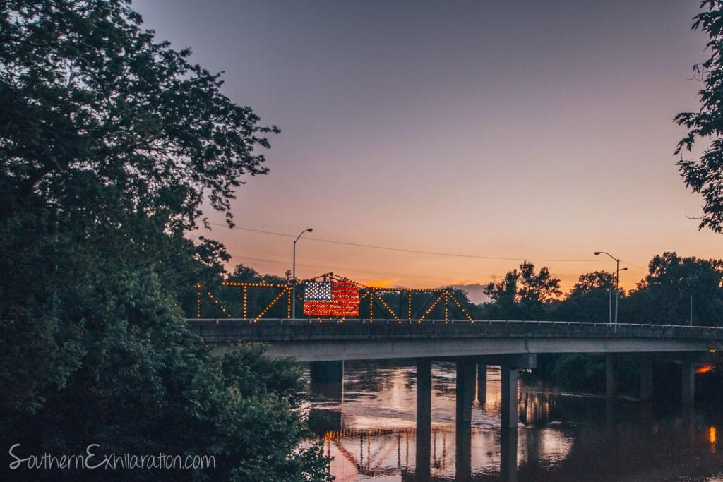 The Robert Redden Footbridge | Rome, GA