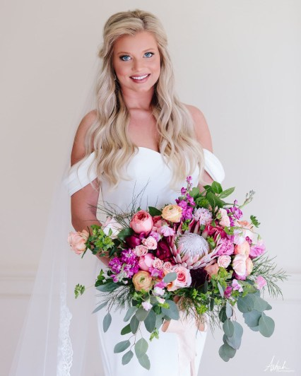 Spring Bridal Bouquet - Macon Wedding Florist