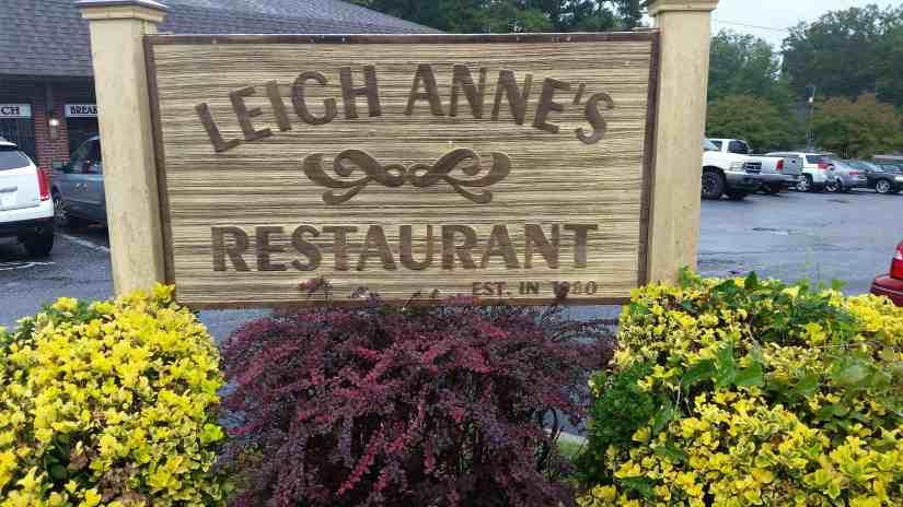 Leigh Anne's Restaurant Lancaster, SC