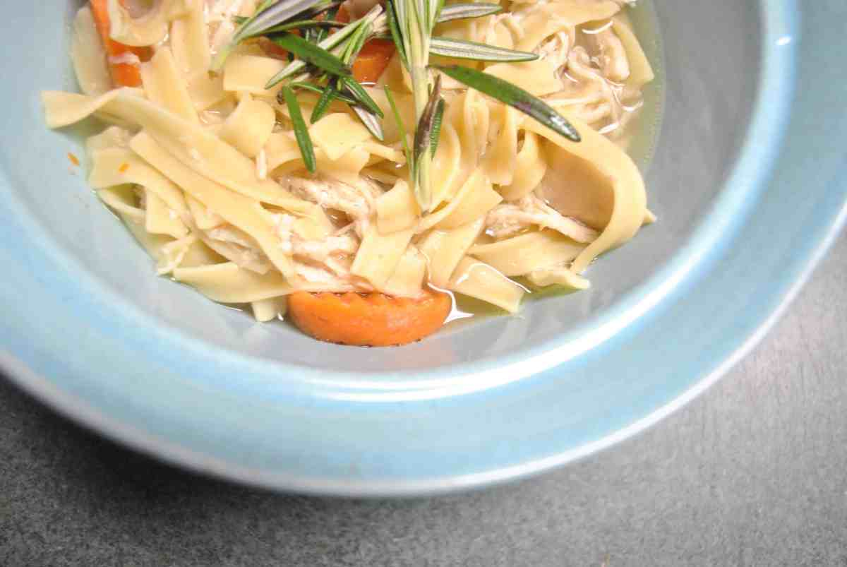 Easy Crock-Pot Chicken Noodle Soup