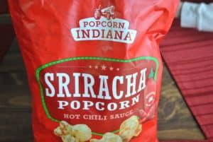 Popcorn, Indiana Sriracha Flavored popcorn