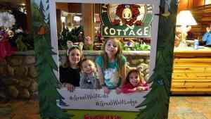 Photo Frame at Great Wolf Lodge
