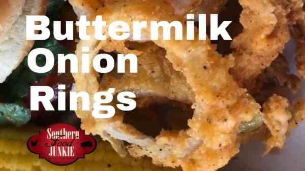 Buttermilk Onion Rings Recipe, How to make Buttermilk Onion Rings, This is a picture of buttermilk onion rings from southern food junkie