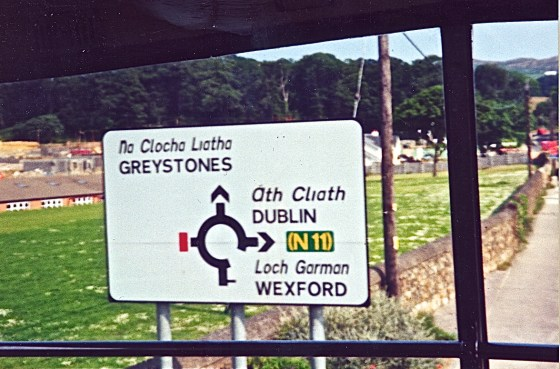 Sign-Greystones