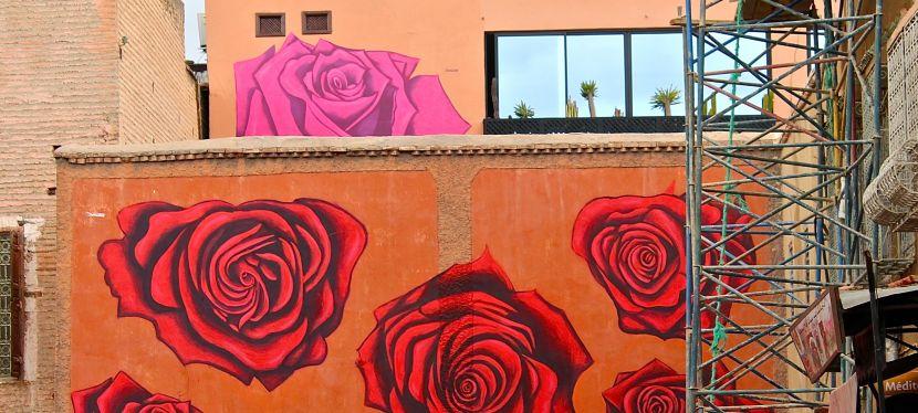 Gallery in the Sky: MB6 Street Art in Marrakesh