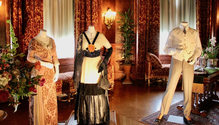Costumes worn by Rose and her mother