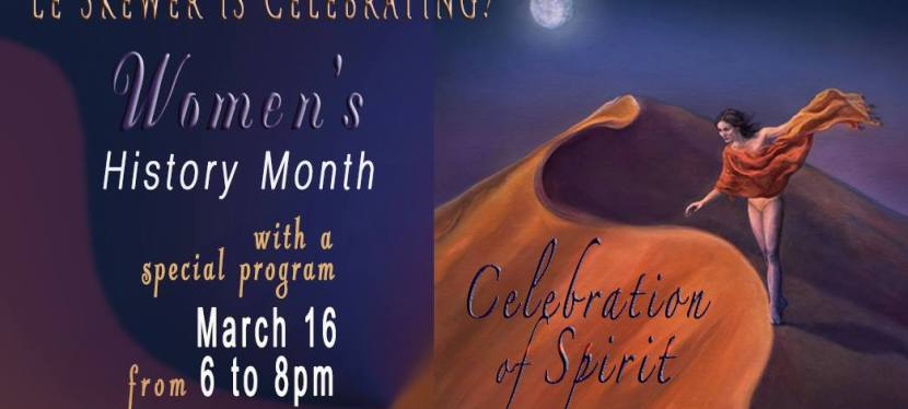 Women's History Month Celebration at Le Skewer