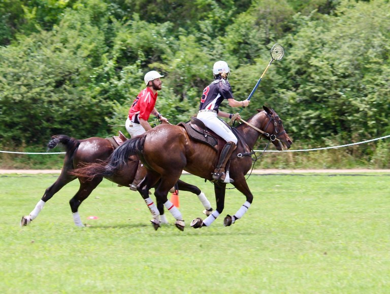 Polo players at Victory Cup