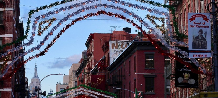Moonstruck over New York's Feast of San Gennaro