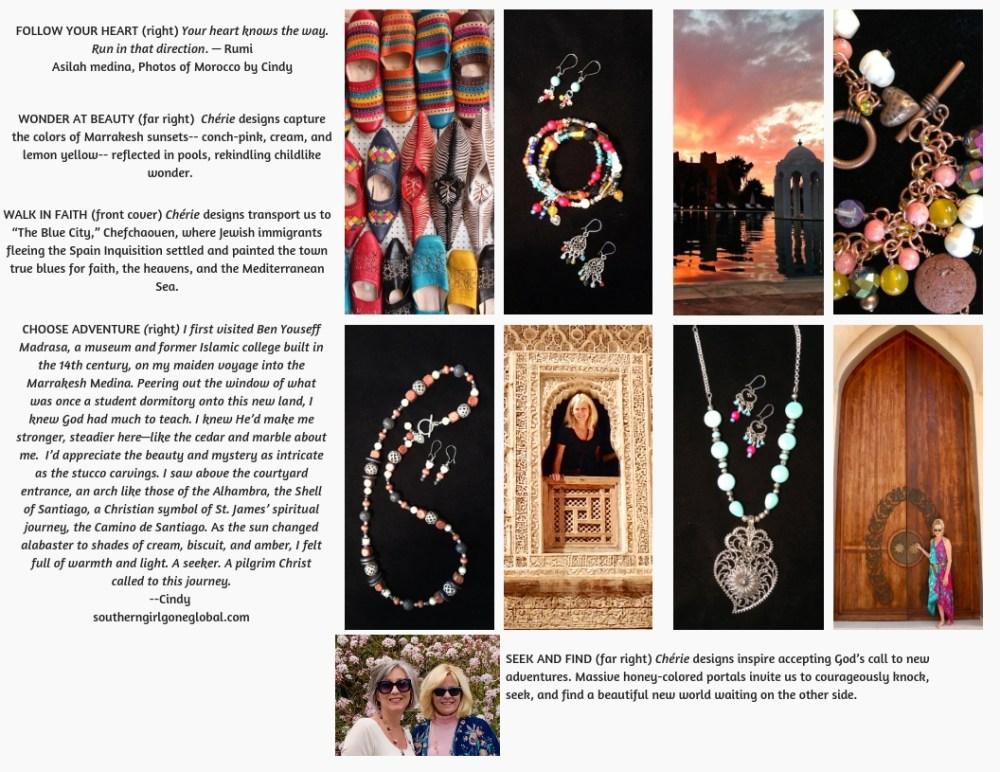 Cherie jewelry line