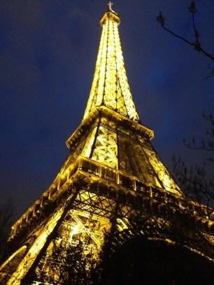 Eiffel Tower after Bruges
