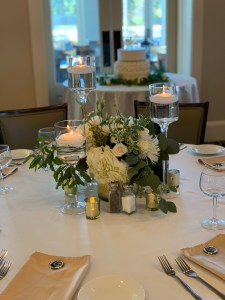 Florals and decor Southern Grace Reunion Golf and country club