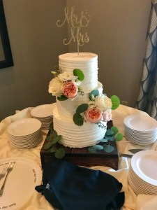 Wedding Cake florals southern grace atlanta bridal bouquet
