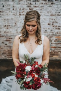 bridal bouquet cotton mill flowery branch georgia southern grace jefferson
