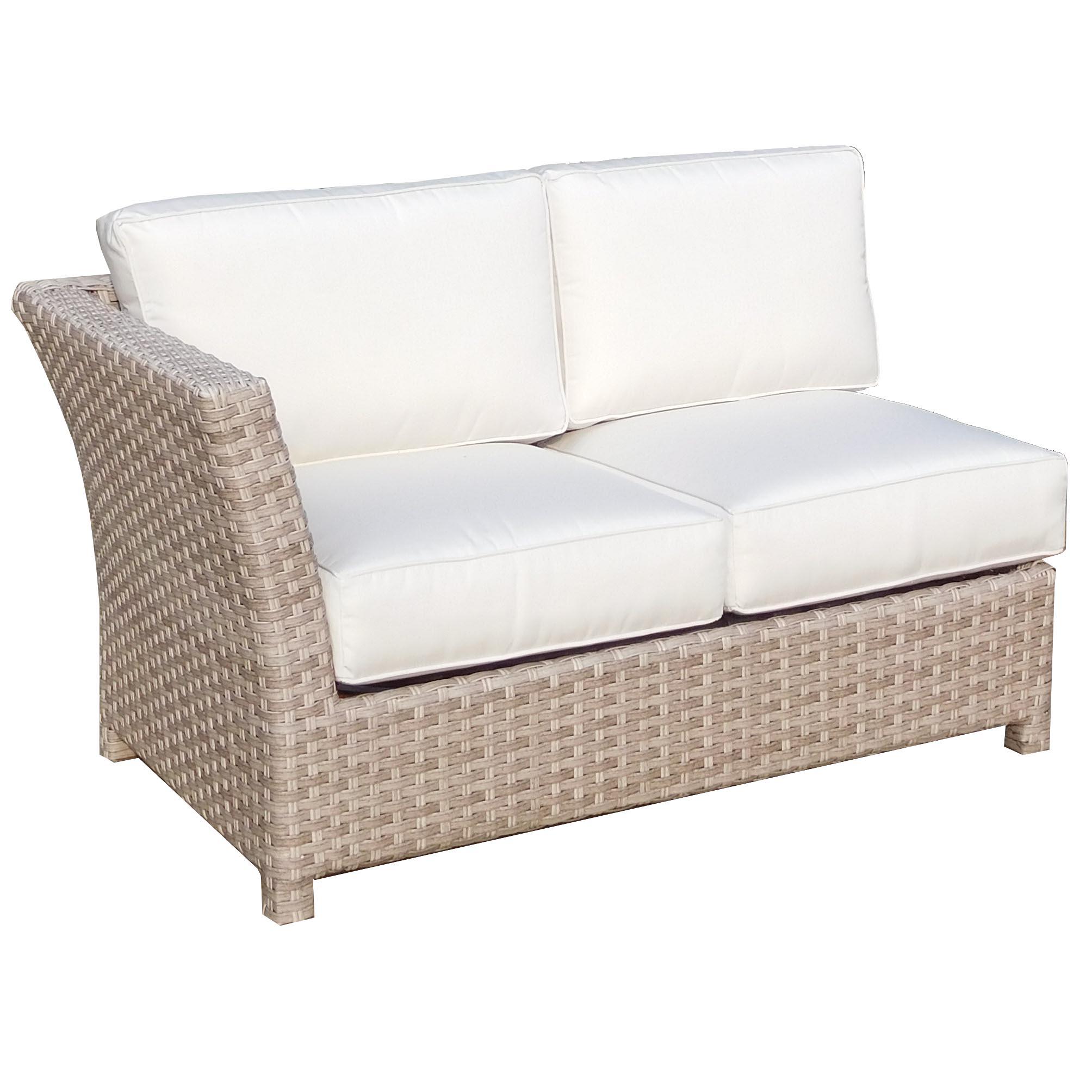 left arm return sofa boston southern home del mar loveseat sectional