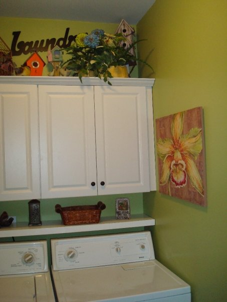 My Sisters Green Laundry Room  Southern Hospitality